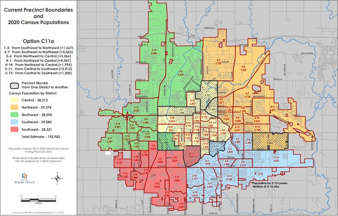 Districting commission map C11a
