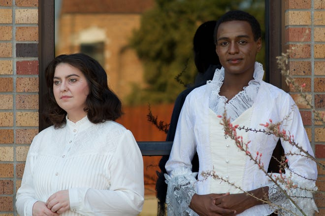 """Rebekah Gardner and James Alexander are splitting the role of Betty in MSU theatre's production of """"Cloud 9."""" It will have shows Oct. 1-3."""