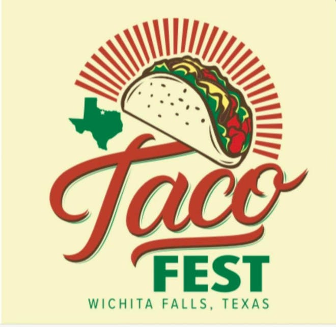 One of two logos submitted for the city's Taco Fest