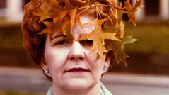 Janey Schultz loved autumn so much that in October 1978 she allowed daughter Connie to stick a branch of fall foliage into her carefully coiffed hair.