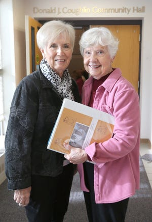 Jan Mather (left) and Laura Root started Bulldog Bags Inc. to help feed hungry children in the Stow-Munroe Falls School District. Mather died unexpectedly on Sept. 18.