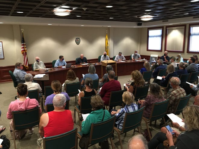 Penn Yan's Village Hall was filled to capacity with residents wanting to hear and be heard on the issue of cannabis/marijuana sales and consumption within the village.