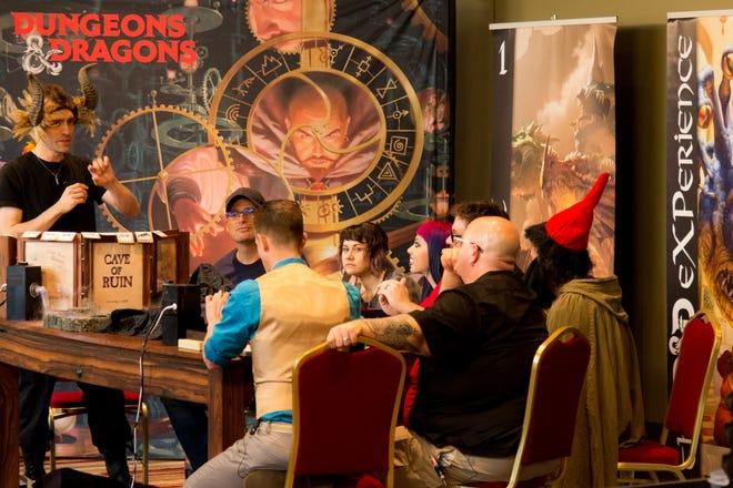 Dungeons & Dragons at a previous Origins Game Fair