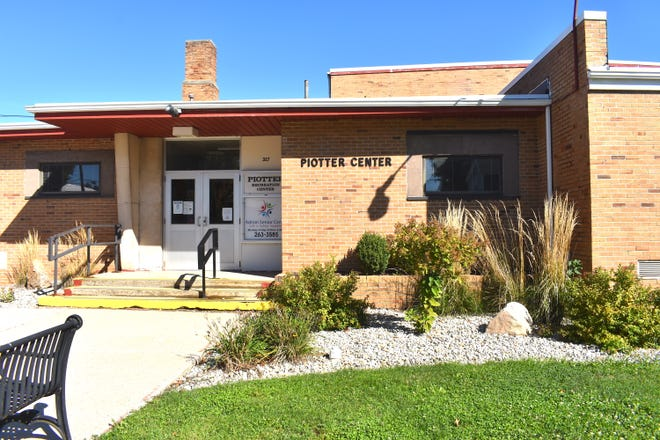 The Piotter Recreation Center, which houses the Adrian Senior Center at 327 Erie St., in Adrian, is pictured Friday morning.