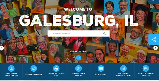 The City of Galesburg launched a new website, which went live on Sept. 20, and will be presented to the City Council during the Sept. 27 City Council work session.