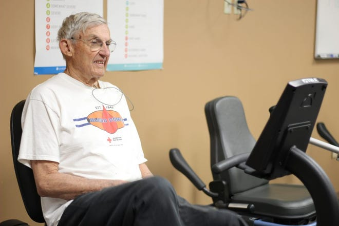 This week, Willis Heck was named the 2021 Trustee of the Year by the Kansas Hospital Association — about five years after he suffered a heart attack and went through therapy at NMC.