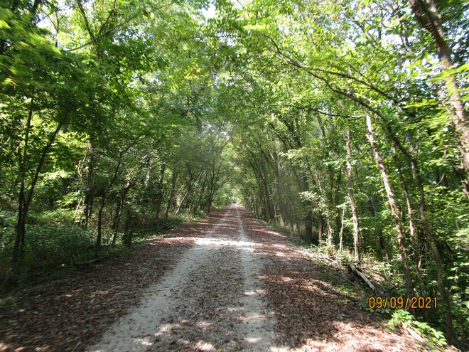 At 94 miles long (with an eventual trail total of 117 miles ), the Fling Hills Nature Trail is the longest stretch of public land in the state accessible to bicyclists and walkers.