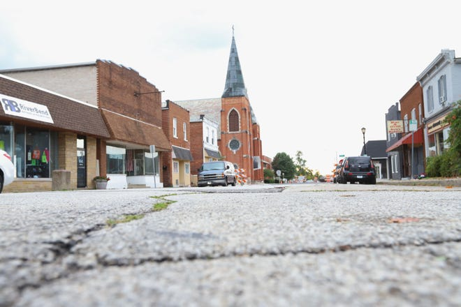 Residents in Mishawaka's West End neighborhood, shown here at 7th and West streets, want the city's help in dealing with fights, loitering and other problems.
