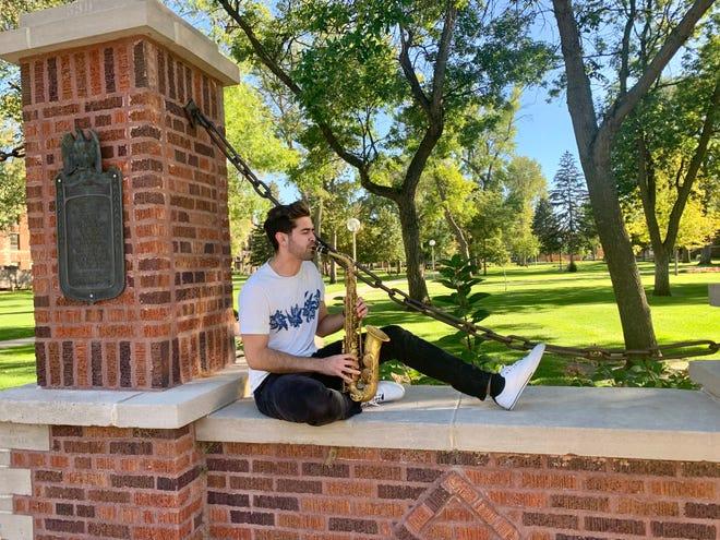 Eduardo Mendoza Reyes-Ortiz, a senior at Northern State University, won a prestigious music scholarship for the third year in a row.