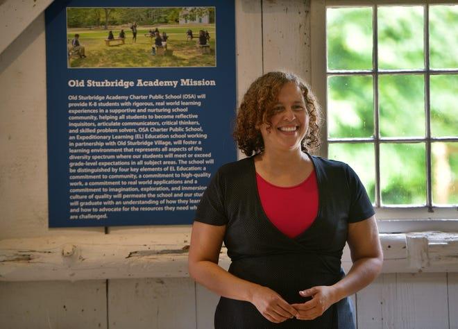 Jasmin Rivas is the new  diversity director at Old Sturbridge Village.