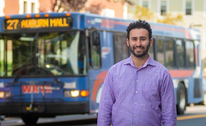Garren Kalter, a graduate student at Clark University, has developed a proposal for a revamped WRTA.