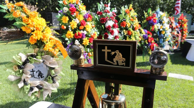 The Alabama Miners' Memorial Foundation marked 20 years since the disaster that claimed the lives of 13 coal miners at the mine in Brookwood Thursday Sept. 23, 2021. [Staff Photo/Gary Cosby Jr.]