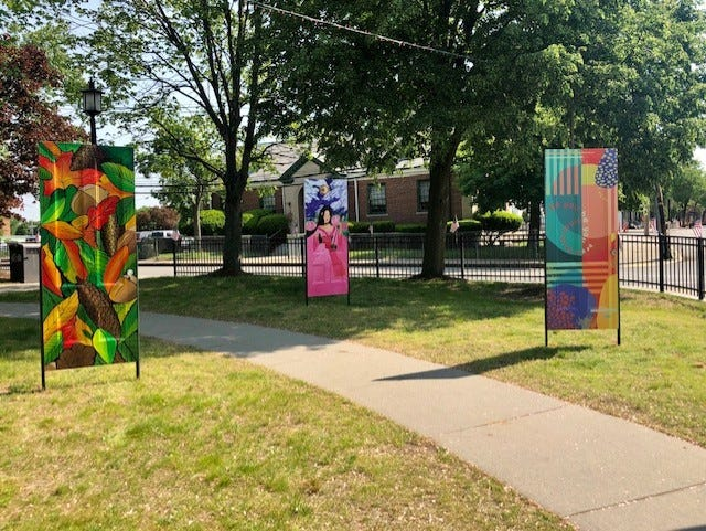 Newton Community Priderecentlyannouncedthe online auction ofits Newton Out Doors art installation.