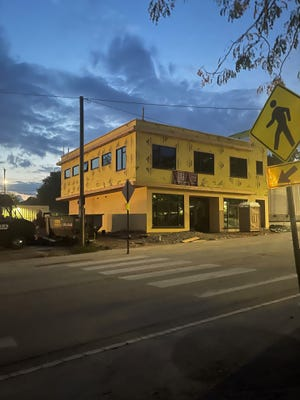 This new building going up on Coxe Avenue on Asheville's South Slope will be home to Asia House Chinese Medicine Clinic & Apothecary.
