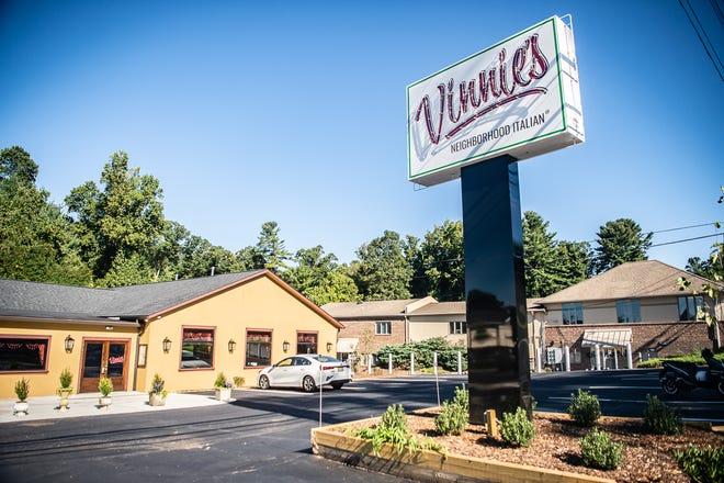 Il quartiere italiano di Finney, situato a South Asheville.