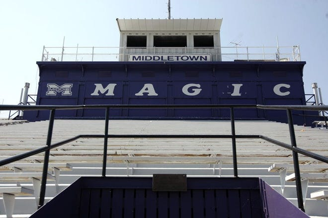 Friday night's football game at Barnitz Stadium in Middletown has been moved to Colerain following a recommendation from police.