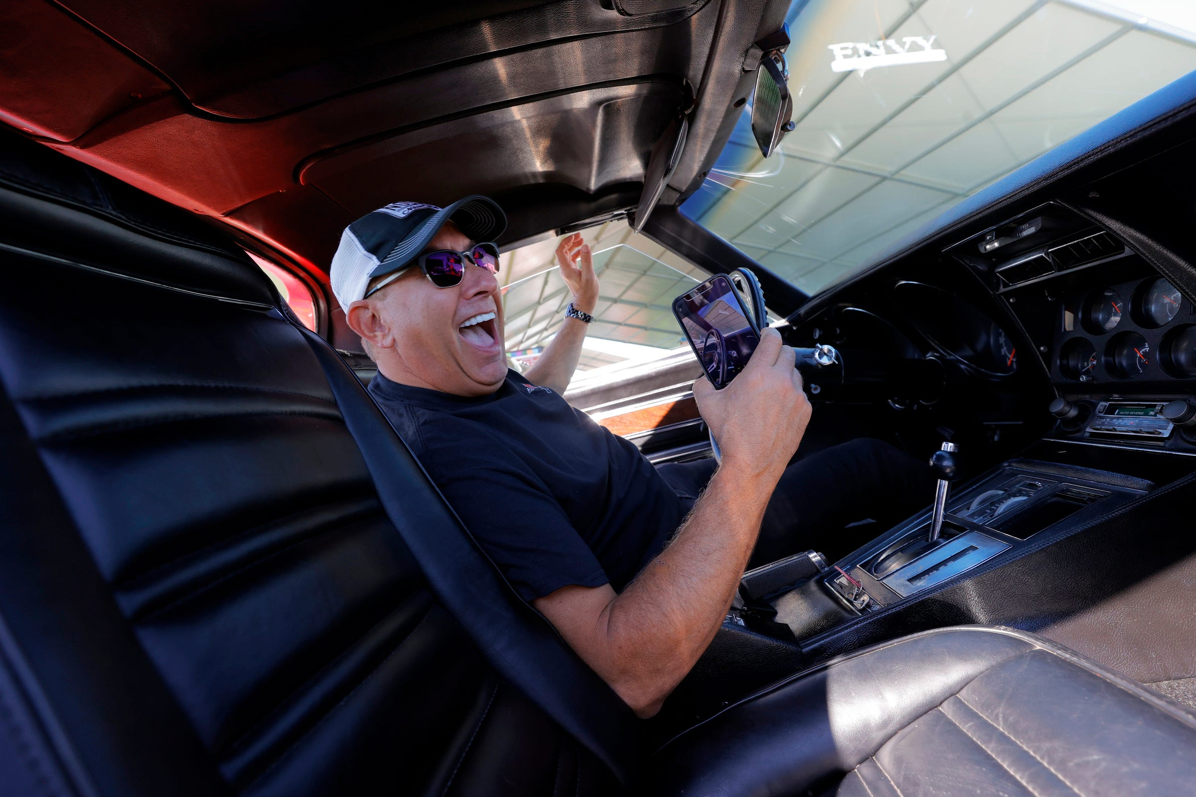 6 raffle winners leave Motor Bella with classic Corvettes, all for helping heroes