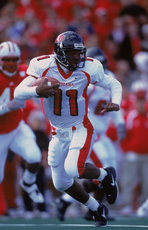 Before a nine-year NFL career as a receiver, Lions receivers coach Antwaan Randle El was a dual-threat quarterback at Indiana.