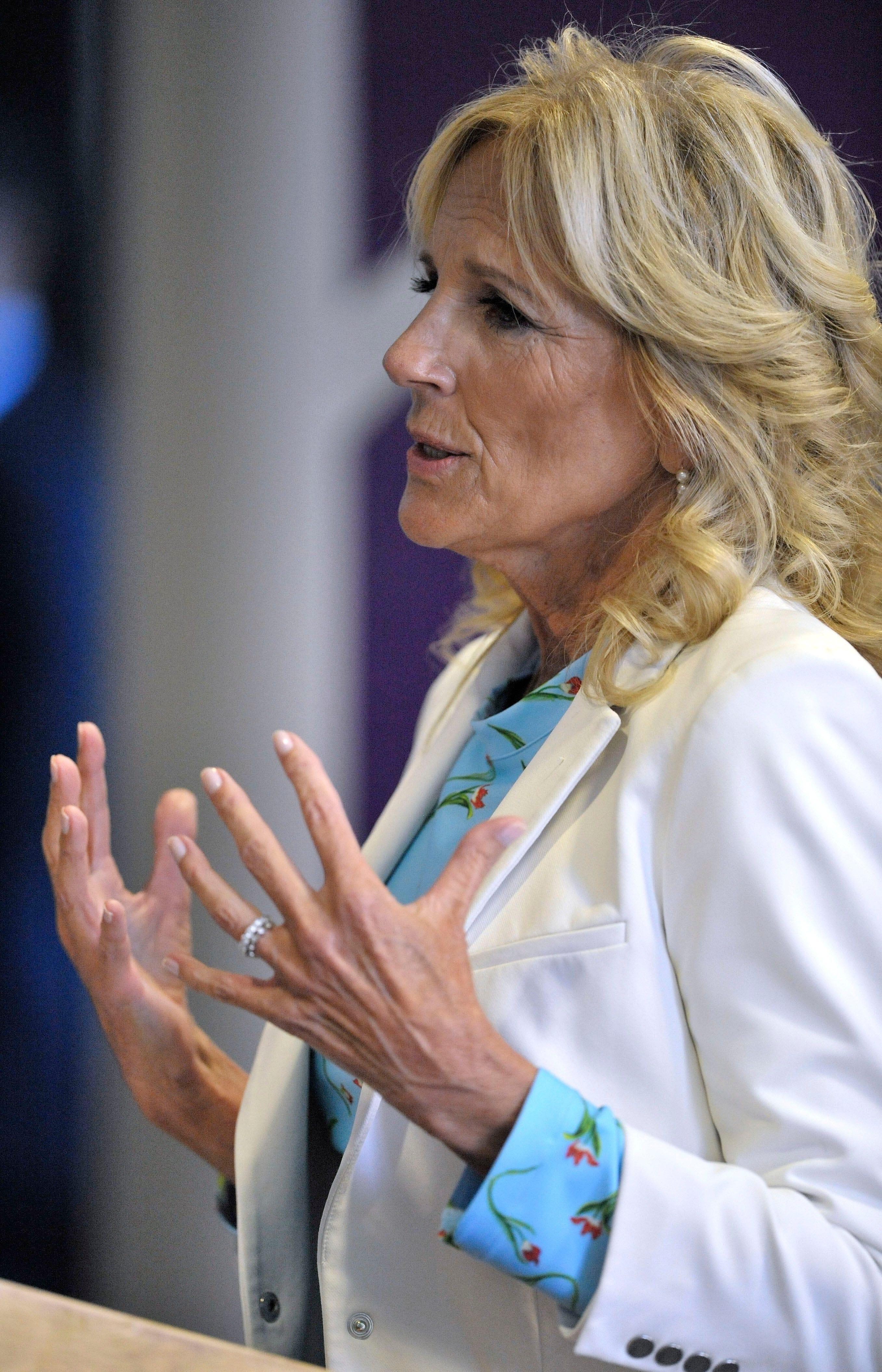 Jill Biden to travel to Detroit Oct. 24 for Jewish school's annual dinner