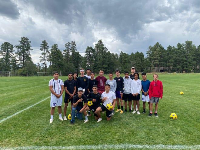 Blue Ridge boy's soccer team