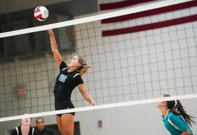 Jensen Beach hosts Fort Pierce Central in a high school volleyball match on Thursday, Sept. 23, 2021.