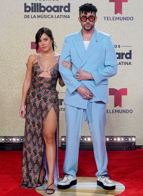 Bad Bunny, Karol G, Camila Cabello, more stars hit the Billboard Latin Music Awards red carpet
