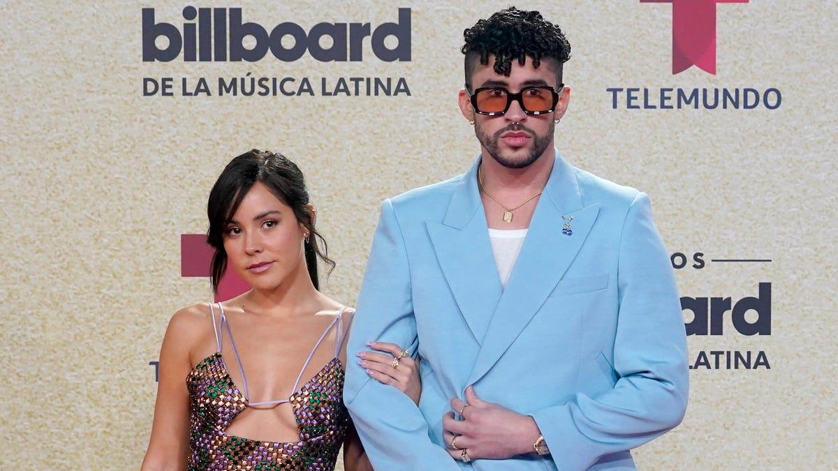 Picture - Bad Bunny, Karol G, Camila Cabello, more stars hit the Billboard Latin Music Awards red carpet