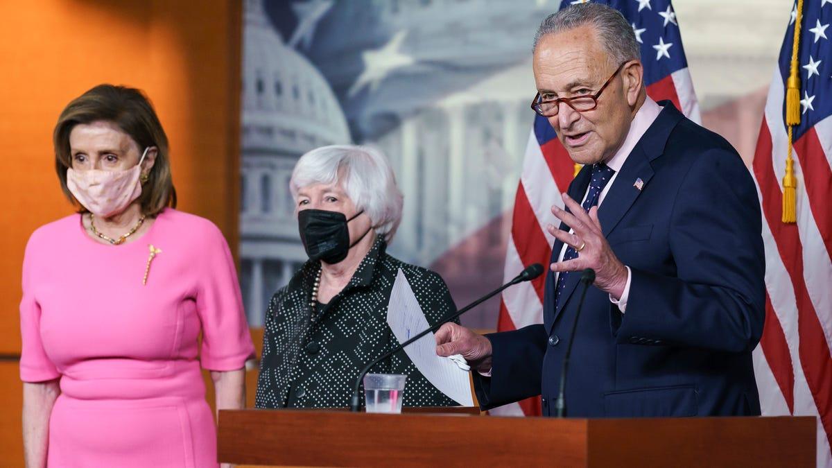 Panel approves Dems' $3.5 trillion bill, crunch time for Biden agenda