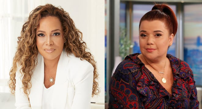 """Sunny Hostin and Ana Navarro tested positive for COVID-19 ahead of interviewing Vice President Kamala Harris on ABC's """"The View."""""""