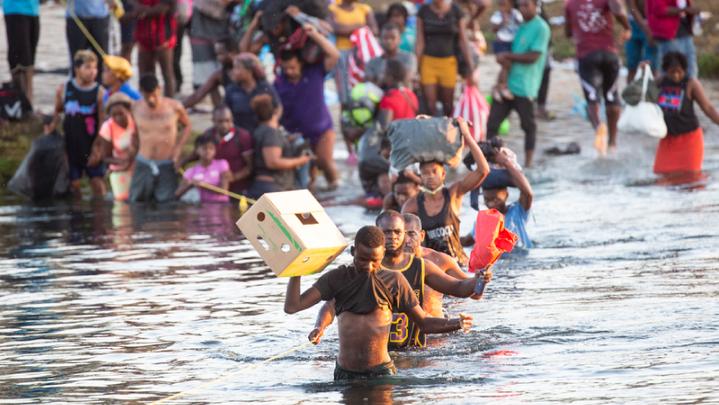 Promo image for Haitian migrants