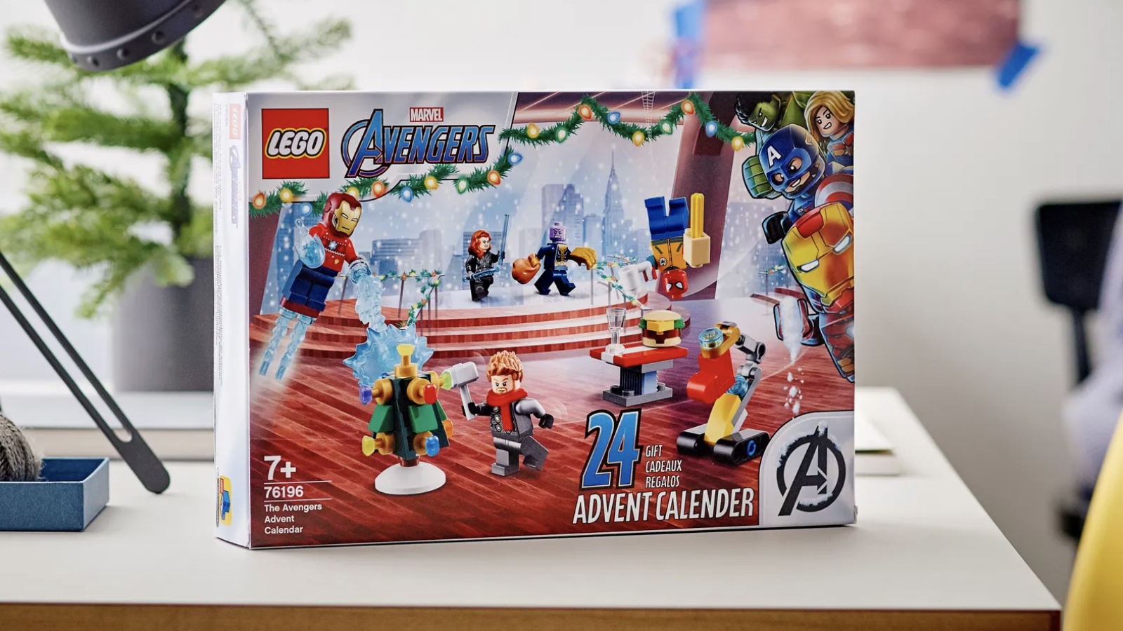 Lego released a Marvel Avengers Advent calendar—here's where to buy it