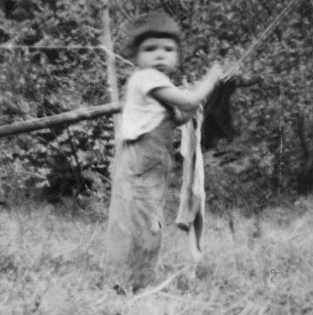 Patty Patton just before her death at age 4.