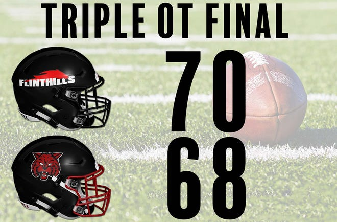 Flinthills scores the third most points in school history on Friday night