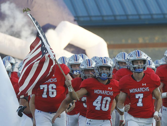 Marysville is ranked fifth in Division I and received one first-place vote in this week's Ohio high school football AP poll.