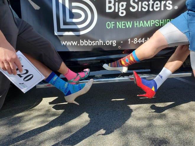 The annual fundraiser for Big Brothers Big Sisters of NH took place Saturday in Market Square.