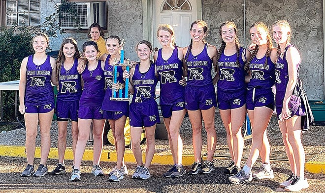 The Rosepine Lady Eagles and Leesville Wampus Cats brought home championship gold on Wednesday as they won at the annual Evans Eagles Nest Run.