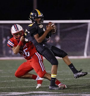 Central beat Portsmouth last Friday, helping the Knights climb to No. 3 in the weekly football poll.