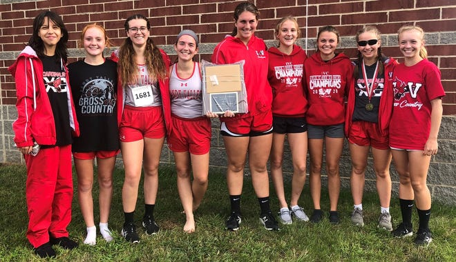 The Sandy Valley girls cross country team won its own invitational on Saturday.