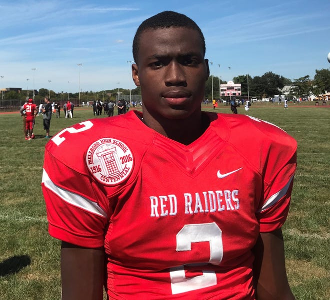Paulsboro's Keyshun Sanders is among the state leaders with four interceptions. He picked off two passes in Big Red's 25-17 win over Salem on Saturday.