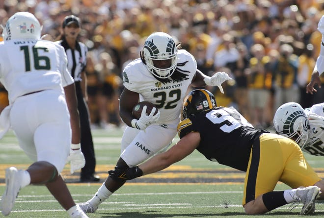 CSU running back Marcus McElroy Jr. is transferring from the program.