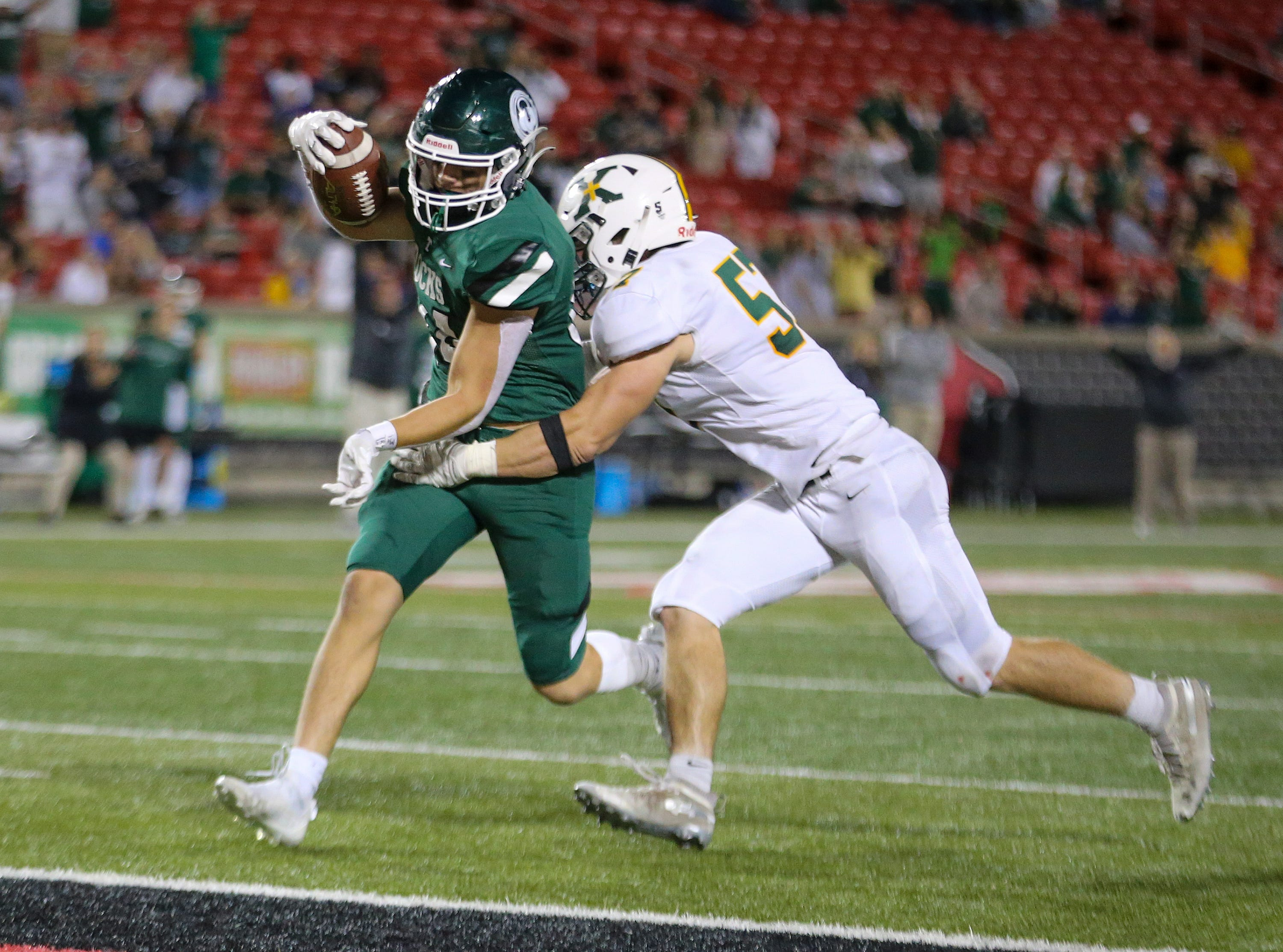 'This group is not physical': Trinity coach Jay Cobb talks after loss to St. X