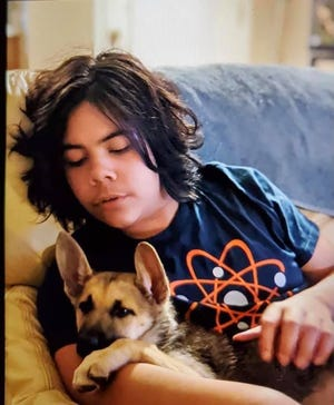 14-year-old Jacob McCarty went missing in Corydon, Indiana Sep. 21 while taking his dog for a walk, according to the Harrison County Sheriff's Office.