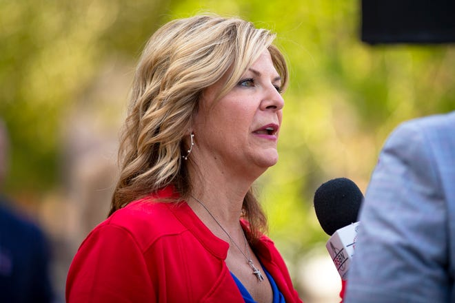 Arizona's GOP chair Dr. Kelli Ward