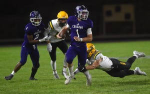 Spanish Springs quarterback JJ Dain has passed for more than 1,000 yards this season for the Cougars.