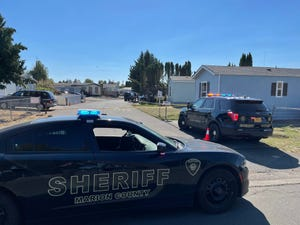 A 10-year-old boy is hospitalized with life-threatening injuries following a shooting Saturday afternoon in an unincorporated neighborhood northeast of Salem.