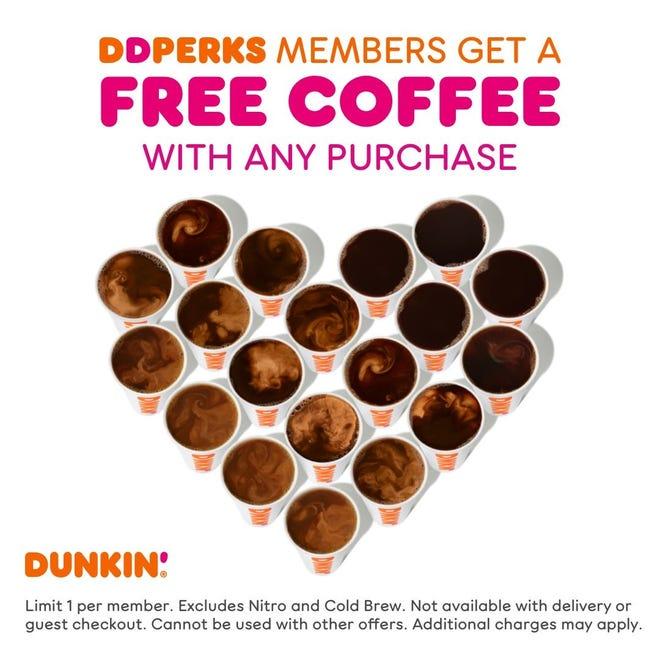 Dunkin' célèbre la Journée nationale du café avec un accord pour ses membres fidèles.