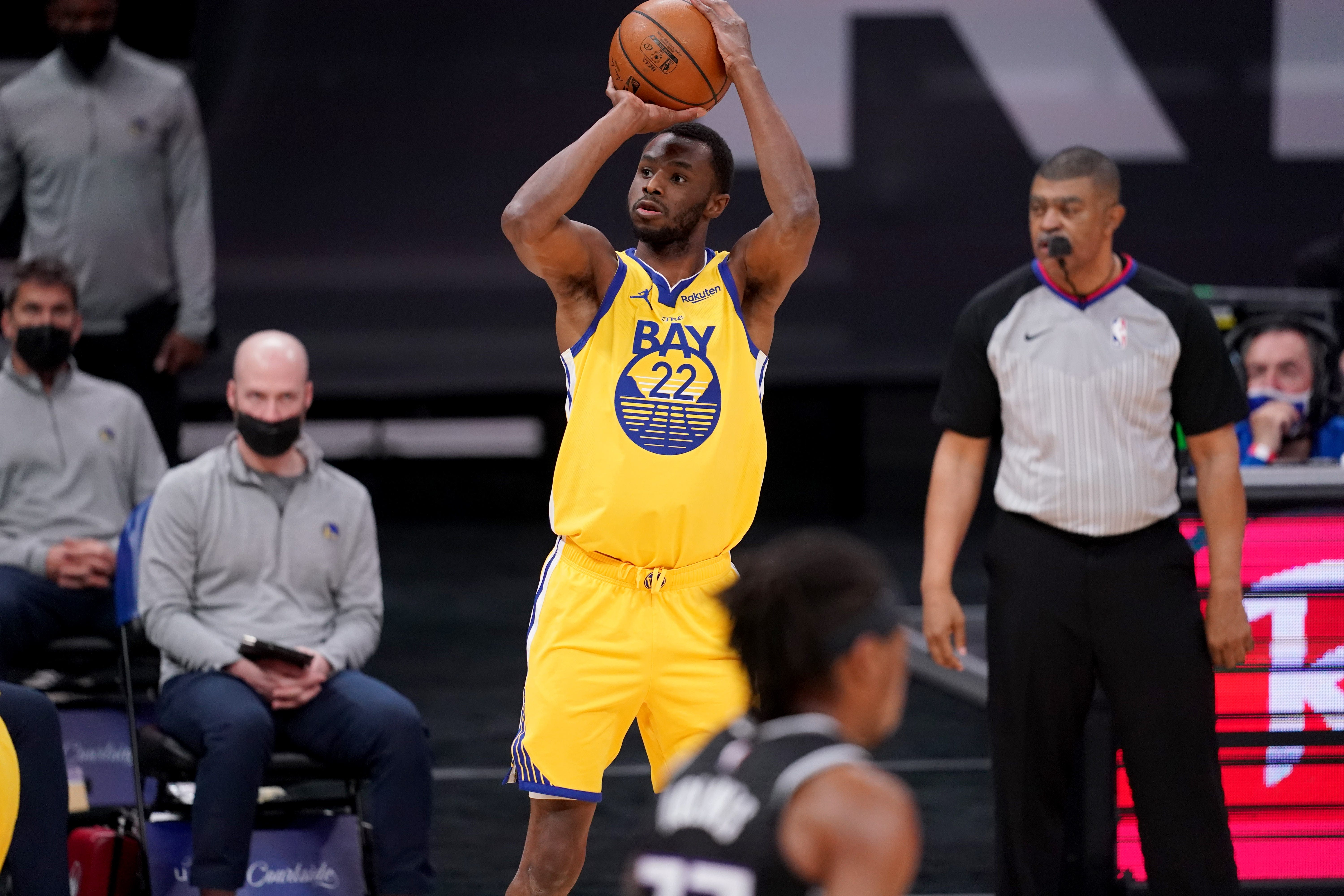 Andrew Wiggins  request for COVID-19 vaccine exemption denied, won t be able to play in Warriors home games