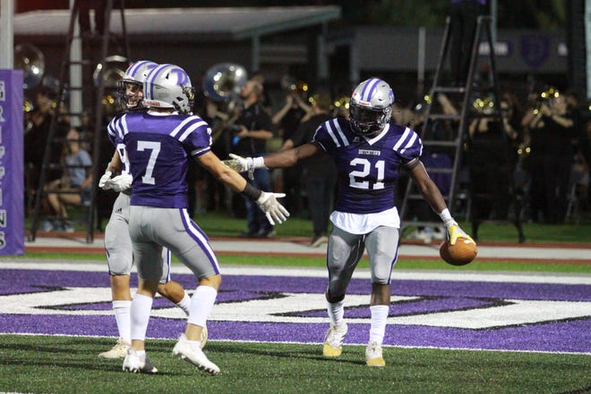 Dylan Sampson and Dutchtown moved into the No. 1 spot of this week's parish power rankings.