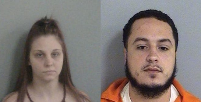 Pictured are Lauren Donaldson and Kirkpatrick Morrison, who pled guilty to manslaughter charges in connection with the 2018 shooting death of Christopher Goudeau.