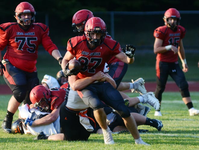 Ethan Antaya and the Red Devils brought balance to the offense Friday night and posted another strong performance defensively to move to 4-1.